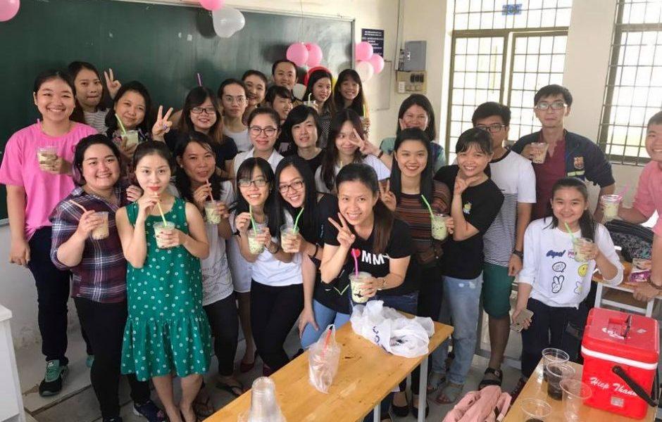 Ăn chơi 20-10 lớp Tố Linh IELTS
