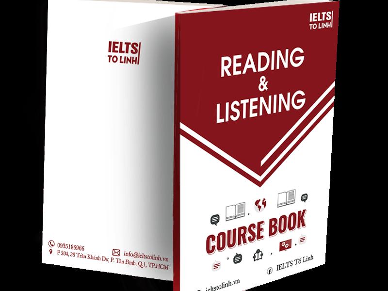 Giáo trình IELTS Reading tại lớp của mình